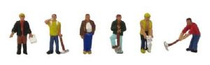 Grafar 379-302 Construction Workers - 6 figures